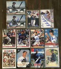 Various Minnesota Twins A-M Signed Cards You Pick Autographs Free Ship