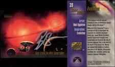 1993 Bob Eggleton SIGNED Star Trek Master Series Art Card TNG Enterprise