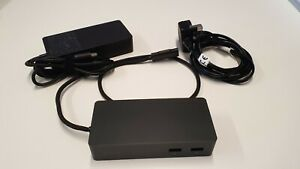 Microsoft Surface Dock 1661 for Surface Pro 3/4/5/6 complete with Power Supply
