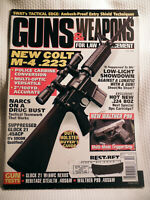 GUNS & WEAPONS FOR LAW ENFORCEMENT MAGAZINE~ OCT 1998 ~ NEW COLT M-4 .223