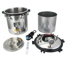 Portable 18L Medical High Pressure Steam Autoclave Sterilizer Stainless Steel