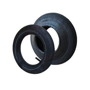 Schubkarrenreifen + Schlauch 4.80/4.00-8 Reifen 2PR Decke für Schubkarre Karre