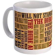 11oz mug Big Lebowski Dude Quotes
