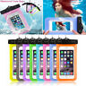 Waterproof Bag Underwater Pouch Dry Case Cover For iPhone Cell Phone Samsung NEW
