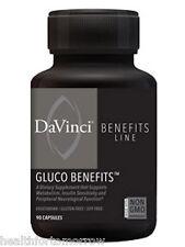 Davinci Labs Gluco Benefits 90 caps