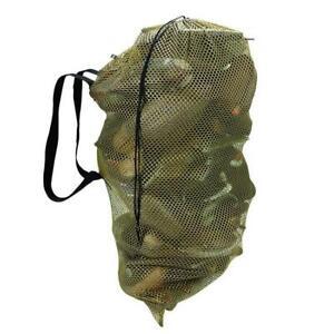 """33"""" Hunting Decoy Mesh Bag With Adjustable Shoulder Straps"""