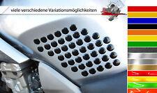 3d seitentankpad/KNEE PAD Dots 800040 forme individuali per tutte le motociclette