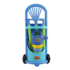 Garden Wagon & Tools Toy Set For Kids With 9 Gardening Tools