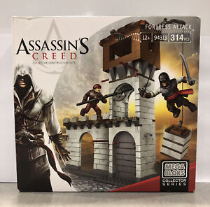 NEW! Assassin's Creed Fortress Attack Mega Bloks Collector Series 94319