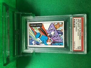 A&BC 1968 SUPERMAN AND NOW-ATTACK #58 NEAR MINT 7 SCARCE - Vintage garno PSA