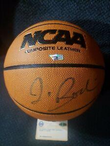 Autographed/Signed JIM BOEHEIM Syracuse Wilson Basketball Fanatics + Steiner COA