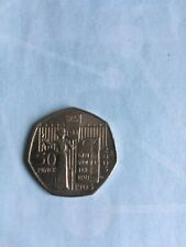 "2003 Suffragette 50p Coin 'Give Women The Vote' 100 Anniversary ""Circulated"""