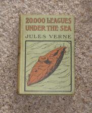 20,000 LEAGUES UNDER THE SEA BOOK BY JULES VERNE - A.L. BURT COMPANY