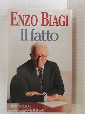IL FATTO Enzo Biagi Rizzoli 1995 libro storia contemporanea saggistica cronaca