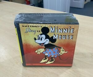 Walt Disney's The Story of Minnie Mouse CD / Book Set Brand New Free Shipping