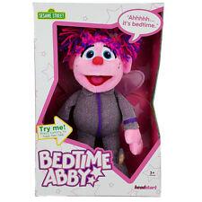 Sesame Street Talking Bedtime Abby Plush