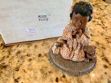 """All Gods Children """"Faith"""" Martha Holcombe Figurine Limited Edition"""