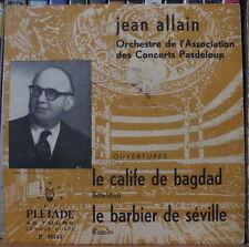 JEAN ALLAIN ORCHESTRE DE L'ASSOCIATION DES CONCERTS PASDELOUP  FRENCH EP