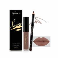 Trend Makeup Matte Lipstick Long Lasting Waterproof Lip Liner Liquid Pen Gloss