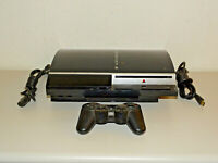 Sony PlayStation 3 PS3 Fat Lady 40GB inkl. Kabel & Contr., 1 Jahr Garantie