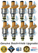 Reman Genuine Upgrade Bosch Fuel Injectors Vortec 8x GM 454cid 7.4L 20lb/hr