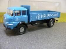 1/87 Brekina Krupp LF 960 Pritsche Solofahrzeug ohne Ladegut Krupp-Stahl