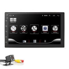 7'' Android Car Stereo MP5 Player Touch Screen 2 Din bluetooth GPS WIFI+Camera