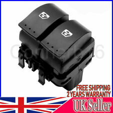FITS RENAULT CLIO II FRONT DRIVER SIDE ELECTRIC WINDOW SWITCH 1998-15 8200060045