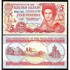 FALKLAND ISLANDS 5 Pounds 2005 UNC P 17