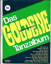 Das Goldene Tanzalbum Heft 51  * Akkordeon Noten