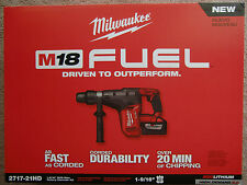 2717-21HD MILWAUKEE M18 FUEL 1 9/16'' CORDLESS ROTARY HAMMER DRILL