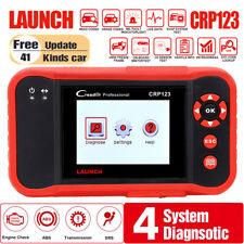 LAUNCH X431 CRP123 Car Diagnostic Tool OBD2 Scanner ABS SRS Engine Transmission