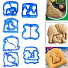 DIY Kids Lunch Sandwich Toast Cookies Mold Cake Bread Biscuit Food Cutter Mould