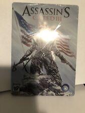 Assassin's Creed III Pre-Order Bonus Steelbook Case (Xbox 360, PS3) - No Game