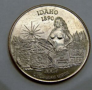"""Idaho - Dig These - Adult Themed """"Sexy Quarter"""""""