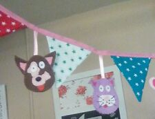 Animals Fabric 1-5 m Party Banners, Buntings & Garlands