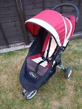 Baby Jogger City Mini Crimson Red/Cream Standard Single Seat Stroller Pushchair