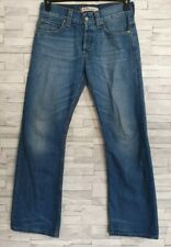 Mens LEVIS STRAUSS & CO 512 Bootcut Jeans Blue Denim W30 L30