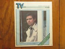 Nov.-1987 Minneapolis Star Tribune TV Week(TREAT WILLIAMS/PETER BOYLE/GARY COLE)