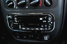 D Chrysler PT Cruiser Chrom Rahmen für Radio / CD - Edelstahl poliert