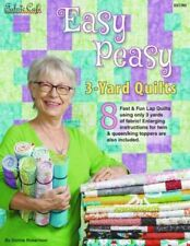Fabric Cafe Easy Peasy 3-Yard Quilts Pattern Book