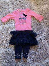 baby girl juicy couture 3/6M Outfit Set