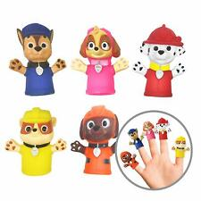 Nickelodeon Paw Patrol Finger Puppets Set of 5 Kids Bath Toys Educational