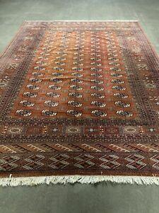 Schöne Handgeknüpfte Buchara Pakistan Bokhara Carpet ca 339X251 cm