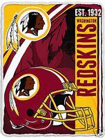 Washington Redskins blanket bedding 60x80  FREE SHIPPING Washington football