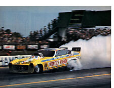 1973 VEGA FUNNY CAR - DON SCHUMACHER ~  ORIGINAL MAGAZINE PHOTO / PICTURE / AD