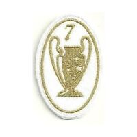 [Patch] CHAMPIONS LEAGUE 7 versione oro cm 5 x 7,5 toppa REPLICA ricamo -257