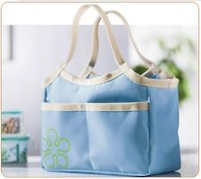 Fab Thermal Cooler Insulated portable lunch box flower picnic bag pouch UK