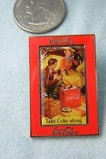 WILLABEE & WARD PIN TAKE COKE ALONG COCA COLA
