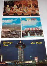 Las Vegas postcards 70's   (3)  Circus Circus---Stardust---Landmark #2